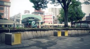 鳥取市駅前のプロジェクトに参加しました